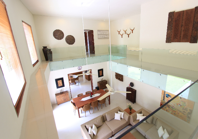 4 Bedroom Freehold Villa in Sanur, SouthEast Bali- Living and Dining area