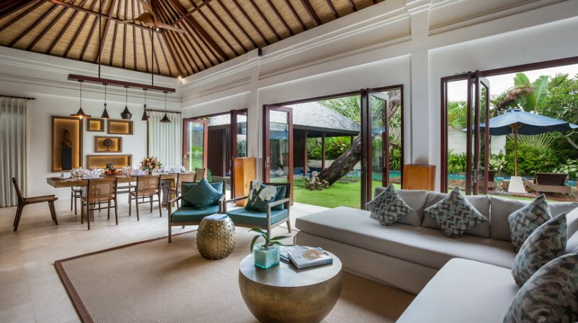 Living and Dining Area--Freehold Contemporary Luxury in Stylish Seminyak, Bali