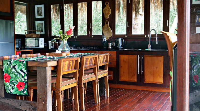 Freehold villa for sale with jungle view-Dining area